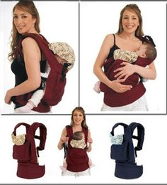Wholesale Popular Wrap Cotton multifunction Baby Carrier Infant Comfort Backpack Sling baby carrier with insert and polyester u0026