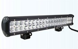led light bar 126W 20inch cree led work light bar Spot Combo beam for truck jeep Car led light bar high power offroad