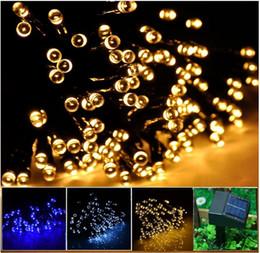 Solar LED String Lights Waterproof IP44 100LED 200LED 300LED 400LED 500LED Lighting Lamps Garden Party Xmas Decoration Decor Lights RGB