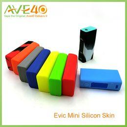 Evic vtc en Línea-Joyetech Evic VTC Mini silicona caso de goma para Joyetech Evic Mini Kit de colores