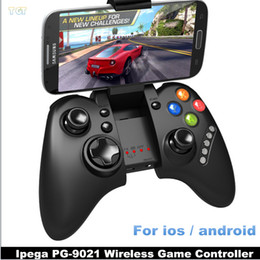 Descuento pc joystick DHL IPEGA PG-9021 PG 9021 Bluetooth Wireless Gaming regulador del juego de Gamepad Joystick gamecube para el ordenador portátil del teléfono Android IOS mini PC Tablet PC