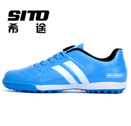 Wholesale New arrivals boys soccer boots Sport soccer shoes soccer sneakers men Artificial turf training football shoes