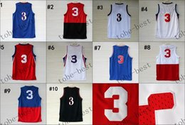 #3 2015 Cheap Rev 30 Basketball Jerseys Embroidery Sportswear Jersey S-3XL 44-56 free shipping china wholesale