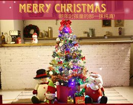 Wholesale 1PC Artificial Luxury Set cm Christmas Tree with Christmas Decorations