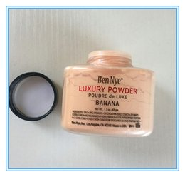 Wholesale Large Stock ship within hours Brand New Ben Nye LUXURY POWDER POUDER de LUXE Banana Loose powder g oz with series code