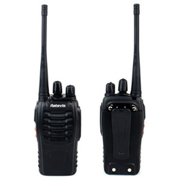 Wholesale US Stock Retevis H Way Radio Walkie Talkie UHF MHz W CH VOX Flashlight Handheld Mobile Ham Amateur Radio A9104A