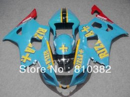 Motorcycle fairing kit for SUZUKI GSXR 1000 03 04 GSXR1000 GSX-R1000 K3 2003 2004 Popular RIZLA blue ABS disguise