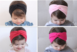 Hot Sale Girls Hair accessory Little Girls twist bohemian headband Turban ,Baby Turban headband,Baby Gift