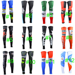 Promotion tour pro 2015 Hot Pro Team Saxo Bank Thinkoff / Lampre / Lotto / Giant / Tour de France / Chaussures à pied cycliste Knee Legging Cycling Leg Sleeve