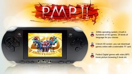 Wholesale New PMP game consoles inch HD screen handheld video game player bit game player portable game consoles MP3 MP4 MP5 player