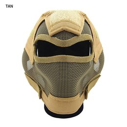 new item V7 ultimate steel wire mesh mask five colors Steel mesh design for tactical game good quality CL9-0054