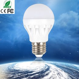 Free Shipping Wholesale Lighting LED Bulbs E27 3W 5W 7W 9W 12W Energy Save Lights Hight Quality Pure Cool Warm White Bright Globe Lamp Cheap