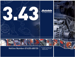 Wholesale promotion Auto Data new version super repair manual for CARS FROM