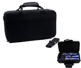 Wholesale 600D Padded and Water resistant Gig Bag Box for Clarinet Two Separate Compartments Clarinet Case with Gripped Handle I728