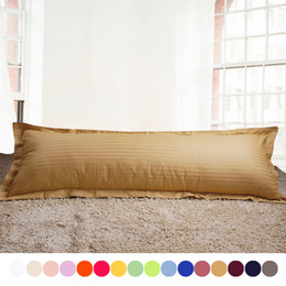 Wholesale-100% Cotton CUSTOMIZED Hotel Pillowcase,19 Solid color pillow case,Double single pillow cover Queen king size pillow cover &45