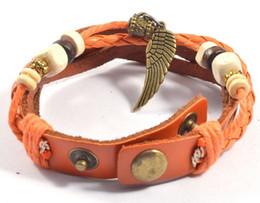 Ladies Fashion Infinity Charm Bracelet Beads Style Leather Bracelet