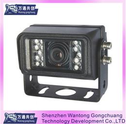 12v cmos Canada - 12V 1200TVL Color CMOS sensor 18pcs IR best price universal super angle car truck camera