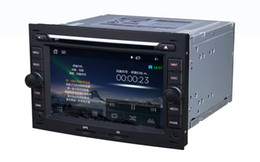 Wholesale AS Dedicated Peugeot Wince Car DVD GPS Navigation din quot P HD G CPU support lossless music Virtual disc TB