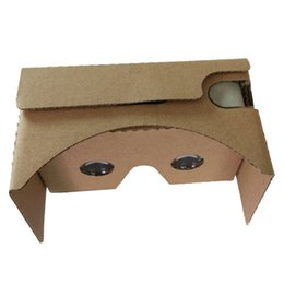 Wholesale new Google cardboard Virtual Reality VR D glasses toolkit Rift Oculus for quot Smart phone