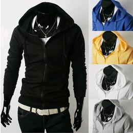 New Autumn men coat hoodie Fashion Leisure hooded cardigan fleece sweater sport sweater Top plus size Men's Clothing