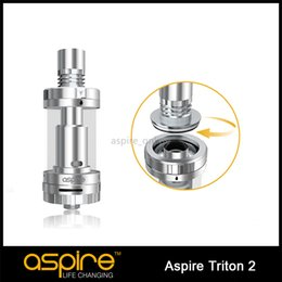 IN STOCK Original Aspire Triton 2 Atomizer 3ML All New Triton 2 Tank System 0.5ohm Sub Ohm Tank Adjustable Airflow Control