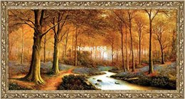 Wholesale big size gobelin tapestries Natural landscape style home decorative picture Reproduction of antique oil painting