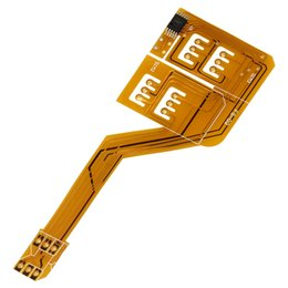 Wholesale Triple Sim Card Adapter Converter with Tray Holder for iPhone C s Plus S S Plus GSM G R CPA_200