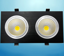 Wholesale Double Faces Led COB Down Lights Lamp Beam Angle Nature Warm Cool White Support Dimmable V for home decoration