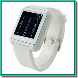 Wholesale HOt popular U8 SmartWatch Bluetooth wristwatch Phone Mate Smartwatch U Watch Wrist for Android for S S for S4 S5 Note Note