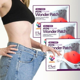 Wholesale By DHL Wonder patch pack MYMI Wonder Slim patch slimming belly Patches Gel Abdomen patch Loss Weight Products Waist Slim Patches