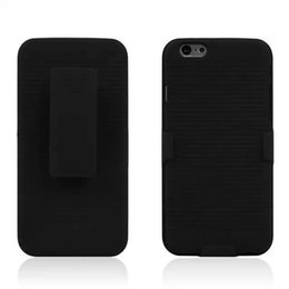 PC+ABS Holster Hybrid Hard Stand with Clip Case Cover for iPhone 4 4s 5 5s 5c 6 6s Plus No Package
