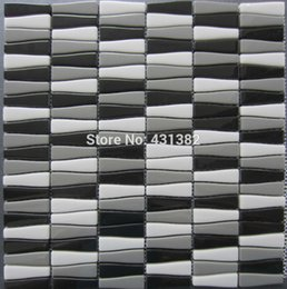 Wholesale Full body crystal mosaic tiles mixed Living Room bathroom and kitchen backsplashes balcony interior tiles Glass Mosaic tiles