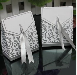 Wholesale Wedding Boxes Gift box Candy box DIY chocolate boxes favor holders