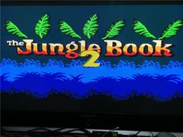 Wholesale-Very old PCB 8 BIT game cartridges,game name is JUNGLE-BOOK 2, works well, made IN 1993,Only have one.