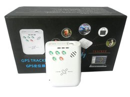 2017 dispositivo de niño perdido Mini portátil de alarma perdida anti localizador GPS de seguimiento de dispositivos para el niño de edad avanzada Animales Autos Vehículos económico dispositivo de niño perdido