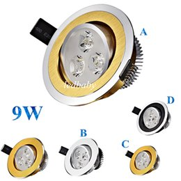 Hot Sale Led Downlights Dimmable 9W Led Recessed Ceiling Light For Indoor 120 Angle Led Cabinet Lighting