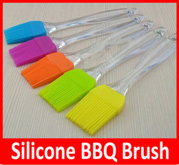 Wholesale Silicone Baking Bakeware Bread Cook Pastry Oil Cream BBQ Tool Basting Brush astry Bread Oil Cream Cooking Basting Brush