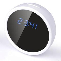 V8 Wifi Spy Camera Clock IP Camera P2P Wifi Wireless Spy Camcorder Clock for Android and iPhone CCTV Wireless Mini Hidden