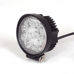 "LED Work Light 4"" Inch 27W 12V 24V Spot Flood Lamp for Motorcycle Tractor Truck Trailer SUV Off roads Boat 4WD 4x4"