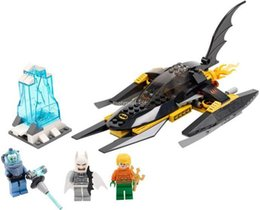 Wholesale SY301 Super Heroes Artic Batman vs Mr Freeze Aquaman on lce Building Blocks Model Minifigures Kids Toys Gift