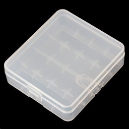 Wholesale Portable Hard Plastic Case Holder Storage Box for x Batteries which Keeps you batteries safe and dry LEF_308
