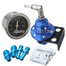 Wholesale 4 mm High Quality Fuel Pressure Regulator Fuel Regulator with Original Gauge Type S Titanium Adjustable Style