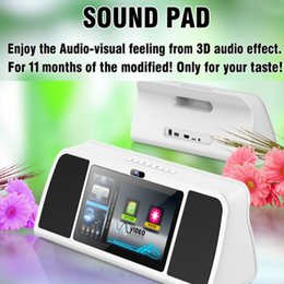 Wholesale New Products S1 Visual Smart Wifi Bluetooth Speaker Audio inch Touch Screen For iPhone Samsung Connected TV By HDMI