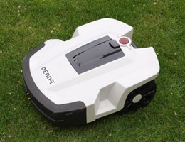 Wholesale robot auto lawn mower automower auto work recharge grass cut with remote control ultrasonic radar