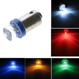 Wholesale 500pcs T10 BA9S 1 LED Concave LED Interior lights Led Lamp Auto LED Bulb Reading Light