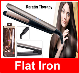 "wholesale Keratin Therapy 1"" Flat Iron Hair Straightener w  Smart Sensor Ceramic Flat Iron Up To 230C Hair"