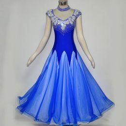 Ballroom Competition Dance Dress Women Formal Dancing Wear Ballroom Waltz Tango Flamenco Dresses
