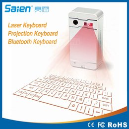 Emergency charger with Virtual Wireless Bluetooth Full-Size Virtual Laser Projection Keyboard for ipad iphone and smartphone