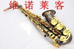 Musical instrument factory in E gold key color black nickel alto sax saxphon.e