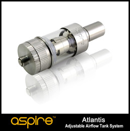 100% Original Aspire Atlantis tank raised the bar to new heights Sub ohm 0.5ohm coil huge vapor better taste